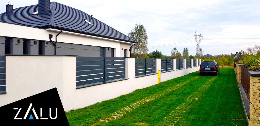 Aluminiowe ogrodzenia - produkcja i montaż
