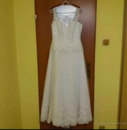 Sprzedam Piękną Sukienkę Slubną