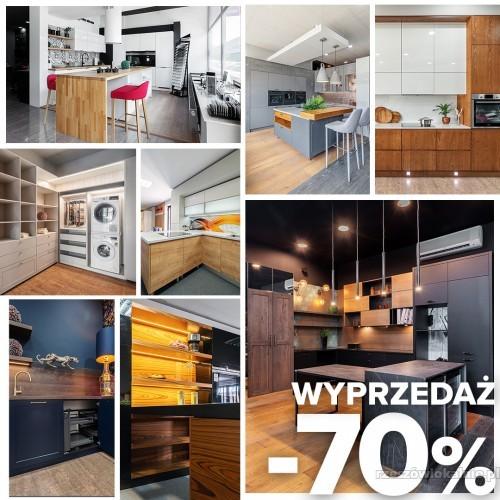 Rabat -70% - WYPRZEDAŻ ekspozycji mebli kuchennych.